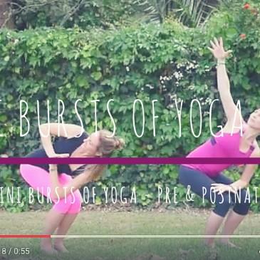 Mini Bursts of Yoga