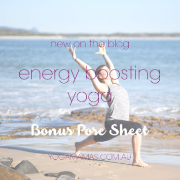 Boost your energy with yoga
