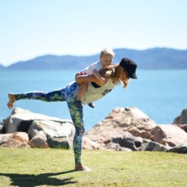 Sharing yoga with our children