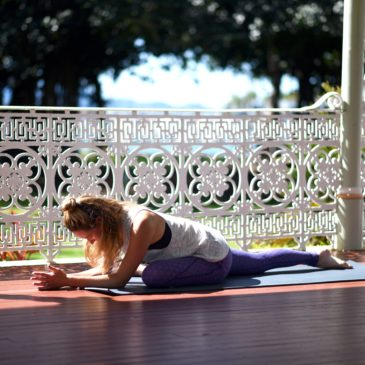 Yin yoga to calm the mind