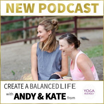 Yoga Mamas on the Mums with Hustle Podcast
