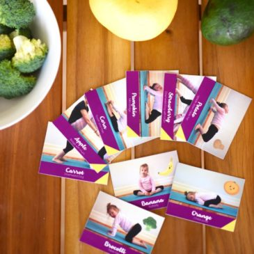 Kids Yoga Cards – Balance at Mealtimes